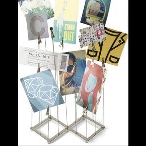 Umbra Crowd Multiframe photo holder with clips